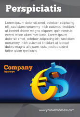 Financial/Accounting: Euro vs. Dollar Ad Template #04268