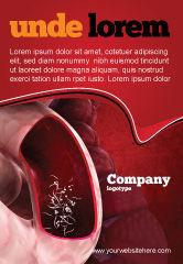 Medical: Modèle de Publicité de des parasites intestinaux #04294