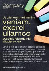 Education & Training: Chalk Ad Template #04365