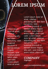 Medical: 癌细胞广告模板 #04381