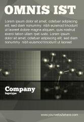 Education & Training: Chemische Samenstelling Advertentie Template #04386