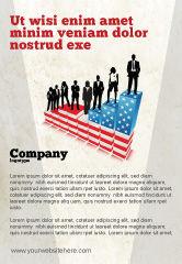 America: Social Hierarchy Ad Template #04393