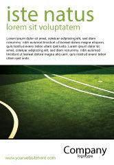 Sports: フットボールの決闘 - 広告テンプレート #04410