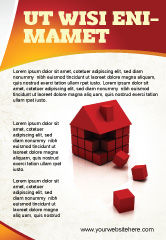 Construction: 3D Cubes Building Ad Template #04463