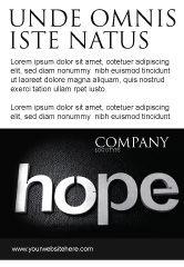 Religious/Spiritual: Plantilla de publicidad - esperanza #04503