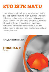 Business Concepts: Distinguished Ad Template #04584