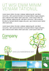 Nature & Environment: Green Solution Ad Template #04597