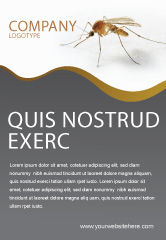 Agriculture and Animals: Mosquito Ad Template #04599