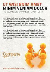 Consulting: Eenstemmigheid Advertentie Template #04601