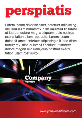 Cars/Transportation: Long Exposure Ad Template #04717