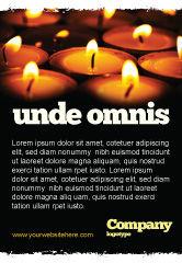 Religious/Spiritual: Plantilla de publicidad - servicio religioso #04743
