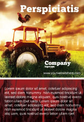 Agriculture and Animals: Summer On The Farm Ad Template #04809