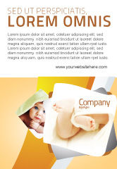 Education & Training: Voetjes Advertentie Template #04837