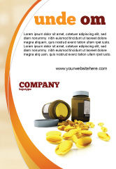 Medical: Capsules Ad Template #04855