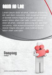 Careers/Industry: Cameraman Ad Template #04873