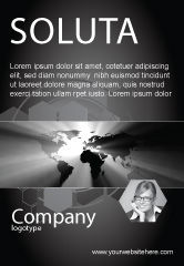 Global: World Light Ad Template #04876