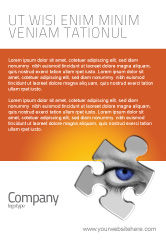Consulting: Eye Ad Template #04894