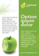 Education & Training: Apple Bite Ad Template #04900