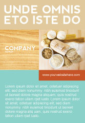 Food & Beverage: Staple Food Ad Template #04956