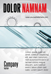 Careers/Industry: Working Drawings Ad Template #04971