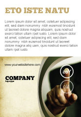 Business Concepts: Yes No Questions Ad Template #04992