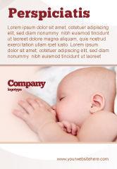 Medical: Modèle de Publicité de allaitement maternel #05025