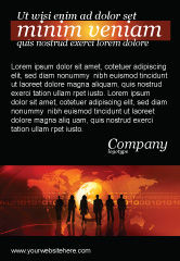 Careers/Industry: Success Story Ad Template #05060