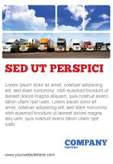 Cars/Transportation: Trucks Ad Template #05080
