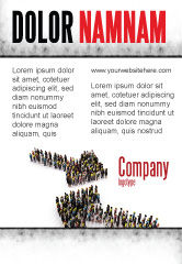 Consulting: Moving Crowd Ad Template #05097