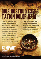 Careers/Industry: Old Map Ad Template #05132