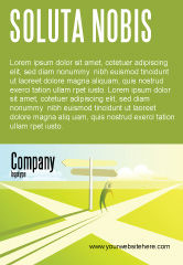 Consulting: Crossroad Sign Ad Template #05137