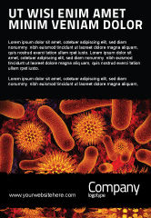 Medical: Microbiology Material Ad Template #05164