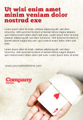 Consulting: Ace of Hearts Ad Template #05168