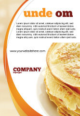 Food & Beverage: Pancakes Ad Template #05343