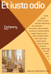 Careers/Industry: Hotel Restaurant Ad Template #05392