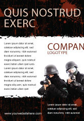Military: SWAT Ad Template #05404