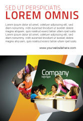 Education & Training: Klassikaal Onderwijs Advertentie Template #05430