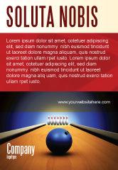 Sports: Het Raken Van Het Doel Advertentie Template #05469