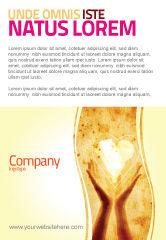 Religious/Spiritual: Plantilla de publicidad - compartiendo amor #05472