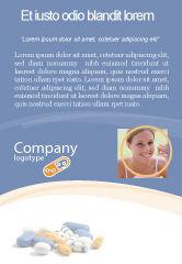 Medical: Modèle de Publicité de ordonnance #05517