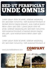 Business Concepts: Plantilla de publicidad - escalera al cielo #05581