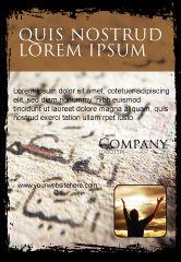 Religious/Spiritual: Plantilla de publicidad - arábica #05584
