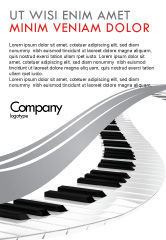 Careers/Industry: Piano Advertentie Template #05616