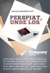 Careers/Industry: E-mail Verzending Advertentie Template #05624