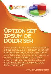 Consulting: 3d Pasteidiagram Advertentie Template #05649