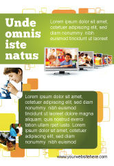 Education & Training: Kids Computer Ad Template #05659