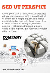Business Concepts: Modèle de Publicité de s'échapper de la réalité #05668