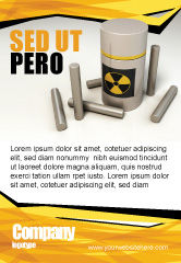 Military: Nuclear Fuel Ad Template #05708