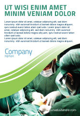 Medical: Anesthesia In Surgery Ad Template #05727