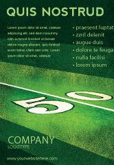 Sports: 美式橄榄球场广告模板 #05744